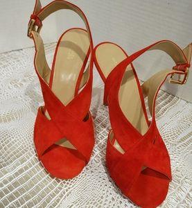 Michael Kors Suede Sandals, size 9.5